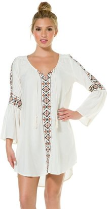 Billabong Stone Melody Embroidered Dress