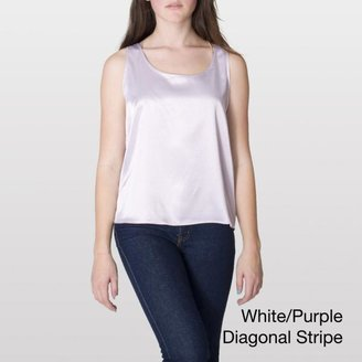 American Apparel Women's Satin Charmeuse Loose Tank $20.99 thestylecure.com