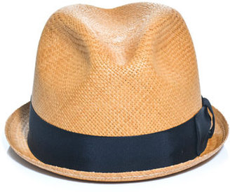 Rag and Bone Rag & Bone Straw fedora hat