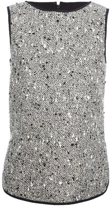 Giambattista Valli sleeveless bouclé top