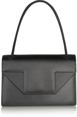 Saint Laurent Betty Jumbo textured-leather shoulder bag