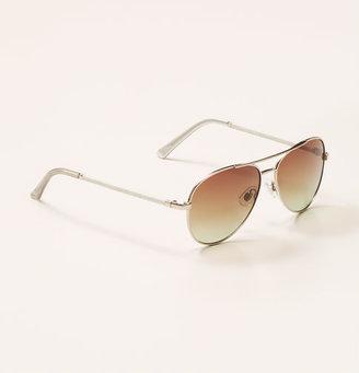 LOFT Wrapped Aviator Sunglasses