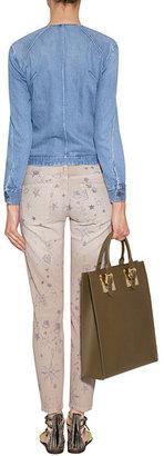 Current/Elliott Stiletto Low Rise 7/8 Jeans in Safari Write On