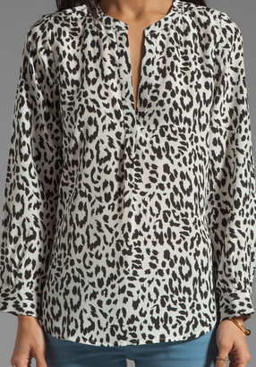 Joie Peterson B Animal Print Blouse