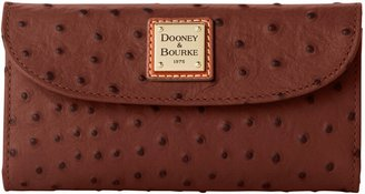 Dooney & Bourke Ostrich Continental Clutch