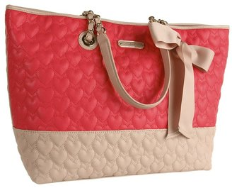 Betsey Johnson Be My One And Only Multi Tote (Guava Multi) - Bags and Luggage