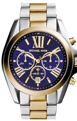 MICHAEL Michael Kors Michael Kors 'Bradshaw' Chronograph Bracelet Watch, 43mm $250 thestylecure.com