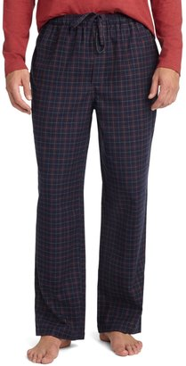 Brooks Brothers Deco Check Flannel Lounge Set