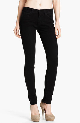 Joe's Jeans Ankle Zip Skinny Jeans (Norah Black)