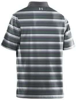 Under Armour Performance Heather Striped Polo