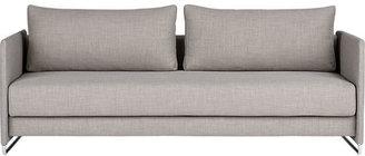CB2 Tandom Grey Sleeper Sofa