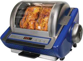JCPenney Ronco EZ-Store 5250 Series Stainless Steel Rotisserie
