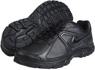 Nike Dart 9 Leather (Black/Black-Black) - Footwear