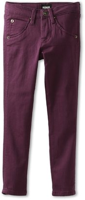 Hudson Kids - Girls' Collin Skinny With Flap Back Pocket (Little Kids) (Hyacinth Aubergine) - Apparel