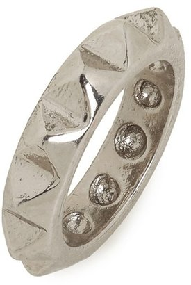 BaubleBar Silver Spike Ring
