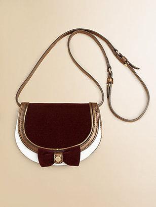 Burberry Girl's Leather Crossbody Bag