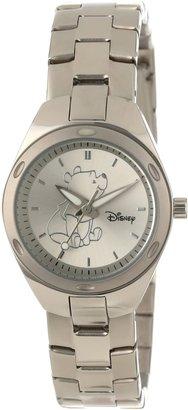 EWatchFactory Disney Women's W000492 Winnie The Pooh Stainless Steel Bracelet Watch