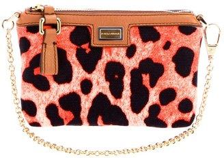 Dolce & Gabbana Leopard print clutch