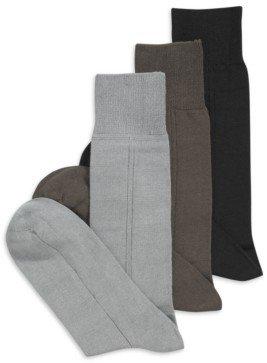 Perry Ellis Men's Socks, Triple S Single Pair Sock