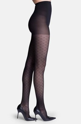7a9e21aa7 Insignia by Sigvaris  Starlet  Diamond Pattern Compression Pantyhose