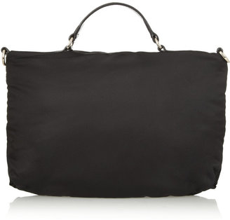 See by Chloe Vita leather-trimmed nylon tote