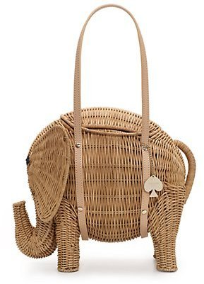 Kate Spade Royal plantation elephant basket