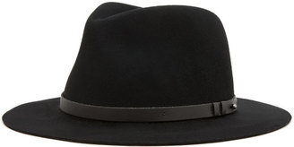 Rag and Bone rag & bone Floppy Brim Trilby in Black