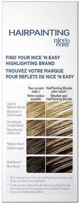 Clairol Nice 'n Easy Hairpainting Hair Color Highlights For Light Blondes to Dark Browns