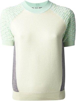 Kenzo intarsia knit sweater