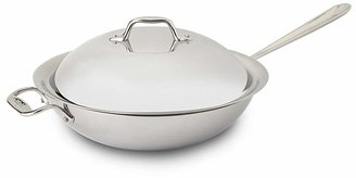 "All-Clad Stainless Steel 12"" Chef's Pan with Lid"