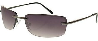 Dockers Rimless Rectangle Sunglasses