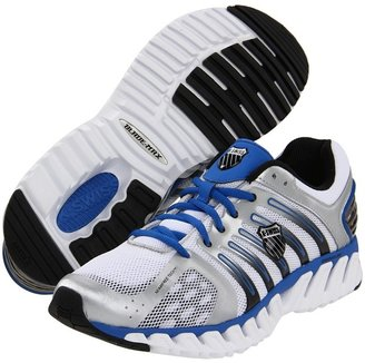 K-Swiss Blade-Max Stable (Silver/Strong Blue/White) - Footwear