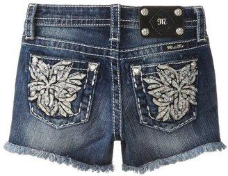 Miss Me Girls 7-16 Shorts with Floral Burst Embellished Back Pocket