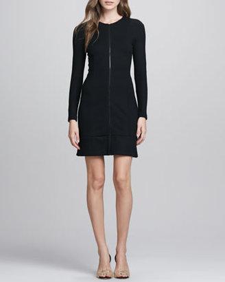 Theory Chayenne Front-Zip Dress