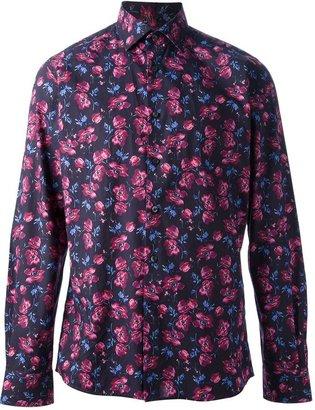 Duchamp floral print shirt