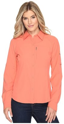 Columbia - Silver Ridge L/S Shirt Women's Long Sleeve Button Up $50 thestylecure.com