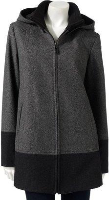 Fleet Street hooded coat