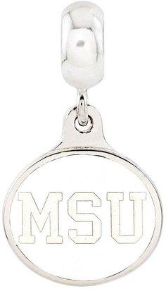 Collegiate Bead Company Sterling Silver Michigan State University Dangle Bead