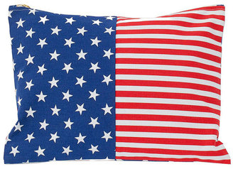 American Apparel Large Stars & Stripes Printed Carry-All Pouch