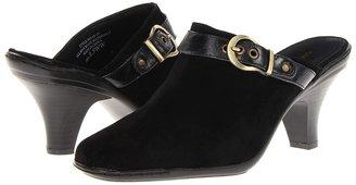 Annie Grace (Black Velvet/Black Antique) - Footwear