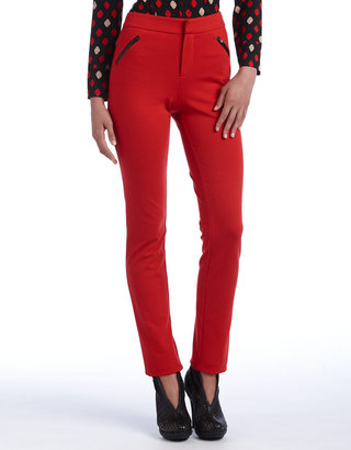 Catherine Malandrino Petites Side-Zip Leggings