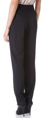 Donna Karan Pleated Envelope Pants