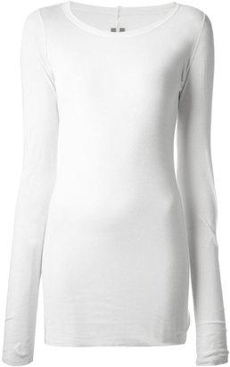 Rick Owens long sleeved t-shirt