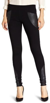 So Low SOLOW Women's Ponte Leg With Pocket