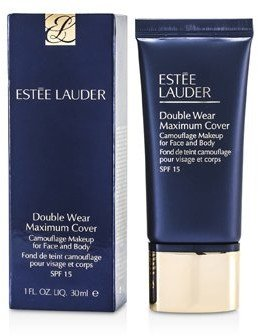 Estee Lauder Double Wear Maximum Cover Camouflage Make Up (Face & Body) SPF15 - #12 Rattan (2W2) 30ml/1oz