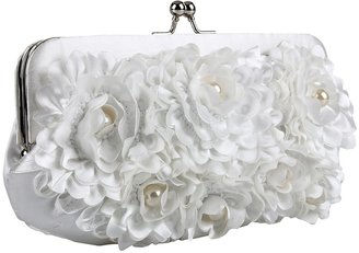 Jessica McClintock Full Floral (White) - Bags and Luggage