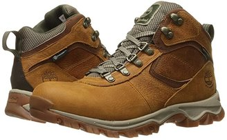 Timberland Earthkeepers(r) Mt. Maddsen Mid Waterproof (Light Brown Full Grain) Men's Lace-up Boots