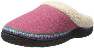 Isotoner Women's Fleece Contour Clog Slipper