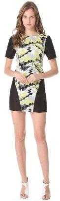 Tibi Isosceles Short Sleeve Dress