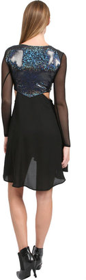Donna Mizani Double Side Diamond Cut Out in Hologram
